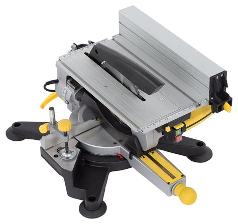 Table Saw Miter Saw Combo by 2 In 1 Chop Saw Miter Saw Table Saw Circular Saw Saw Table