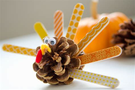 Decorating Ideas With Pine Cones The Cutest Thanksgiving Kid Crafts Goedeker S Home Life