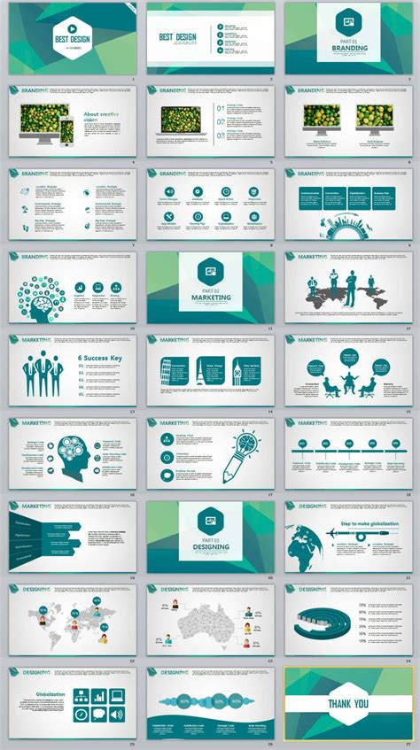 Presentation Template 2018 Beautiful Template Design Ideas Template For Powerpoint Presentation