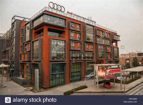 Audi Hauptsitz Deutschland by Audi China Headquarters Stockfotos Audi China