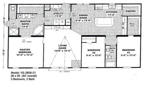 small wide mobile home floor plans 2017 2018