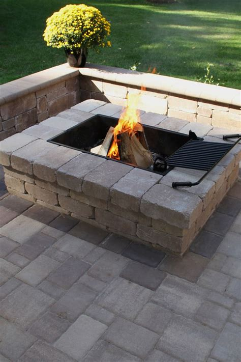 rectangle fire pit the 25 best wood burning fire pit ideas on pinterest