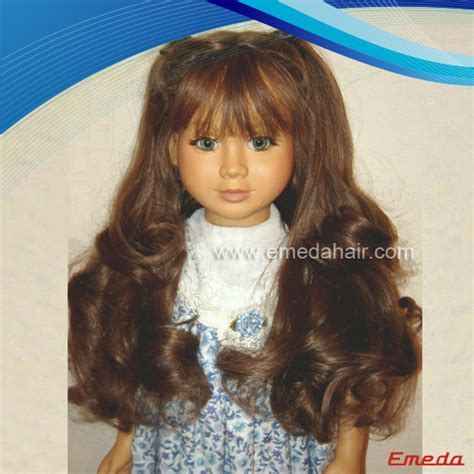 Human Hair Doll For by Human Hair Doll Wig 4 Emeda Hair