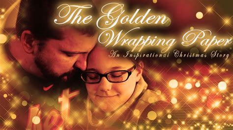 the golden wrapping paper christmas short film