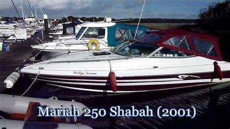 2002 mariah boat mariah 250 shabah 2001 youtube