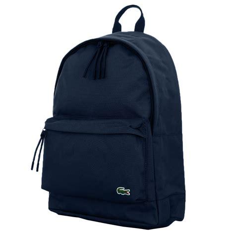one rucksack lacoste nh1595ne neocroc backpack rucksack in canvas