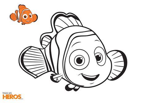 Coloriages N 233 Mo Et Dory 224 Imprimer Gratuitement Sur Notre Blog Dessin De Poisson Nemo L