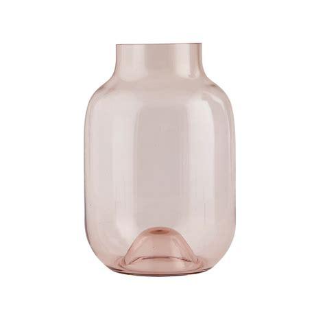 Shaped Vase by House Doctor Shaped Vase Aubergine At Amara
