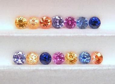 Fancy Sapphire fancy sapphire pink yellow orange purple green