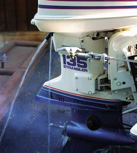 mercury outboard motor flushing attachment outboard flushing the right way boatus magazine