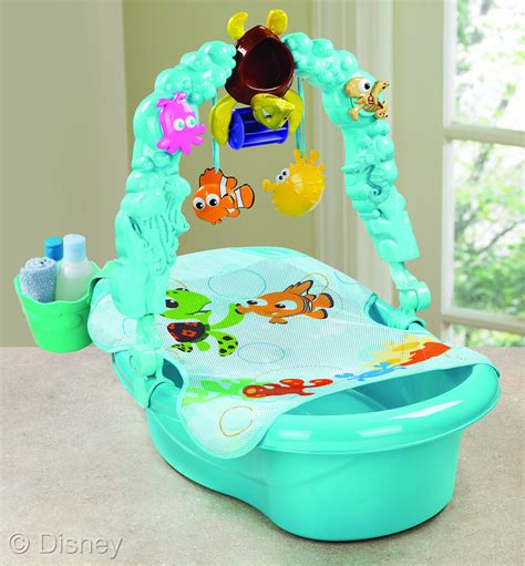finding nemo baby bathtub disney baby finding nemo bathtub and robe launch in stores