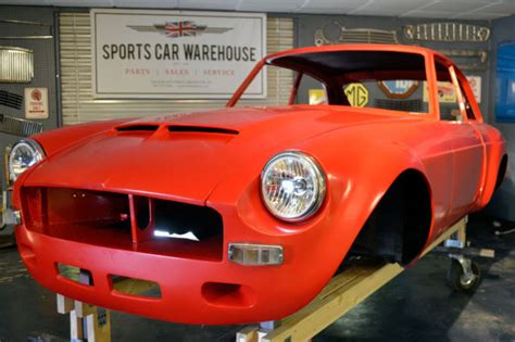 mgb gt sebring tribute project ready  completion