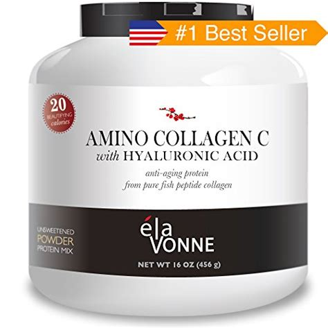 Fish Collagen elavonne amino collagen c with hyaluronic acid fish