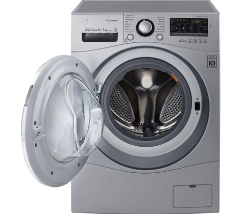 how is a washer and dryer buy lg fh4a8tdh4n washer dryer silver free delivery