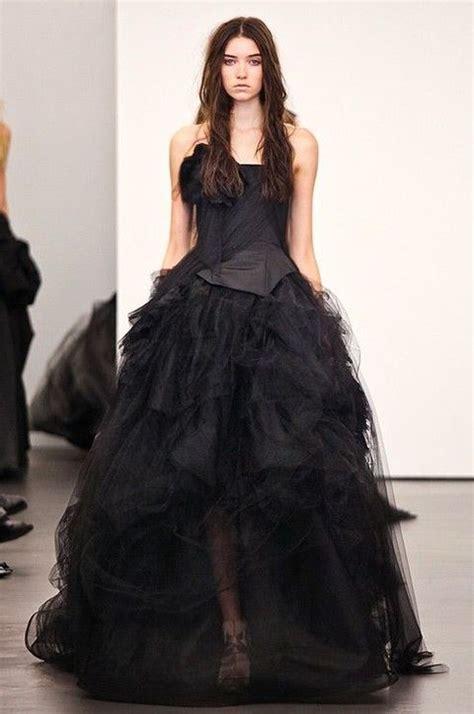 imagenes de vestidos de novia negro 31 magn 237 ficos vestidos de novia negros para bodas