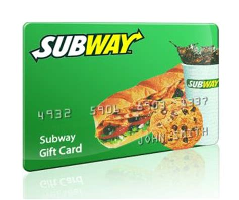 Subway E Gift Cards - special flash giveaway for today july 6th you can win a 10 subway gift card to