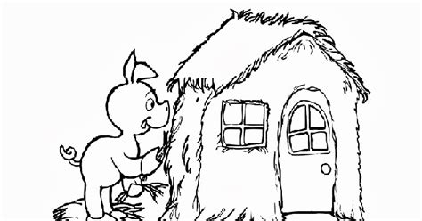 coloring page hawaii three pigs house coloring pages free coloring
