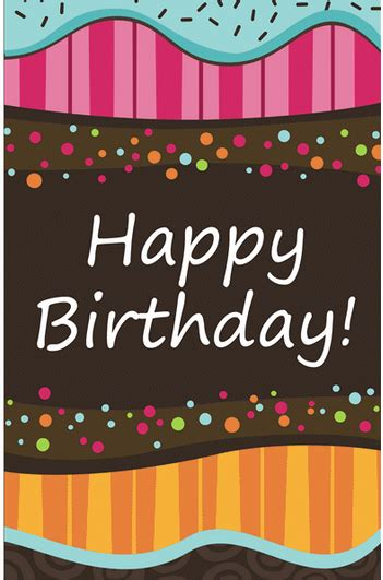birthday card template blue layouts