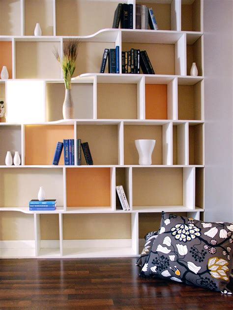 Functional And Stylish Wall To Wall Shelves Hgtv Bookshelves For Walls