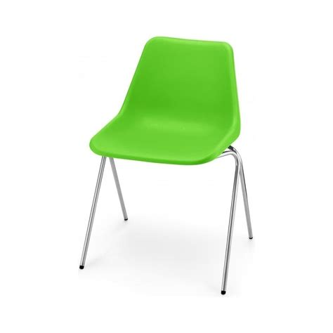 Green Plastic Chairs by Bright Green Robin Day Chair From Fusion Living Green