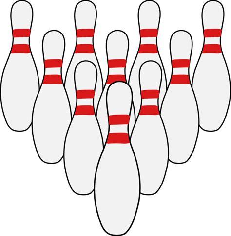 ten pin bowling template clipart best