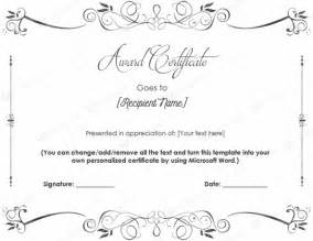 Free Printable Blank Award Certificate Templates by 10 Best Award Certificate Templates For 2016