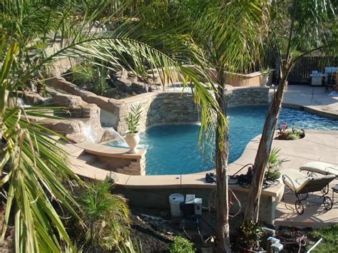sloped backyard pool 13 best images about future home additions on pinterest