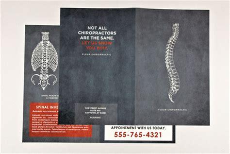chiropractic brochures template chiropractic brochure template inkd