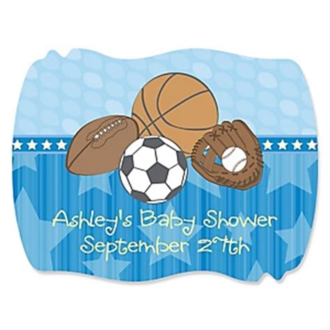 All Sports Baby Shower by All Sports Baby Shower Theme Bigdotofhappiness