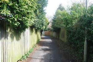 footpath from highfield gardens c n chadwick