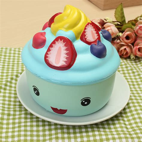Leilei Cupcake leilei squishy erdbeere frucht eiscreme cup cupcake