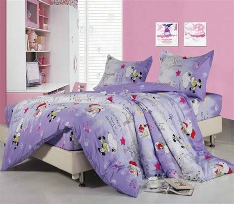 light purple snoopy duvet cover queen size bedding kids room queen size bedding king size
