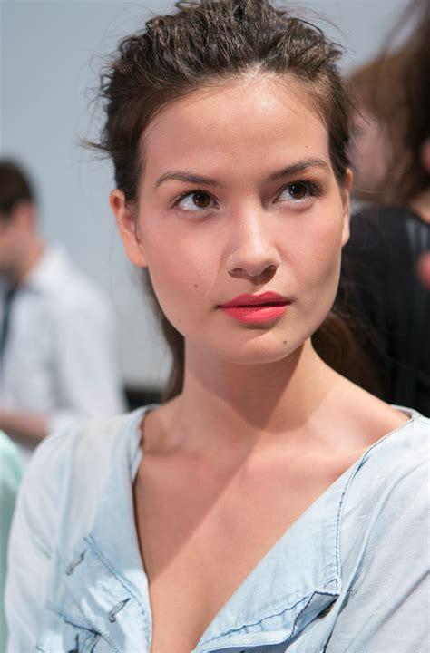 Makeup Christian new york fashion week makeup for christian siriano 2014 collection