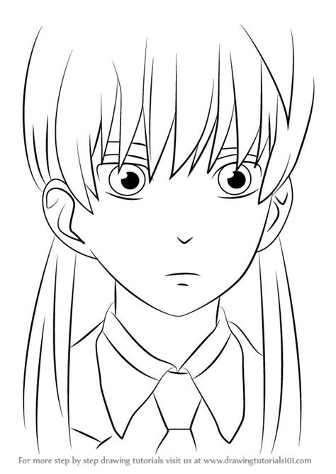 A Anime Drawing by Learn How To Draw Shizuku Mizutani From My