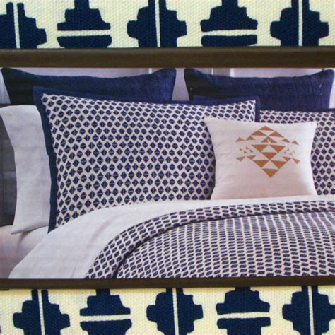 Nate Berkus Comforter by Nate Berkus King Duvet Cover 3 Pc Navy Blue