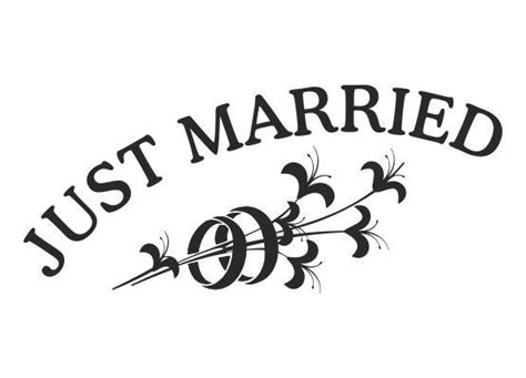 Aufkleber Ringe Hochzeit by Autoaufkleber Hochzeit Just Married Mit Ringen