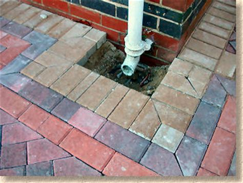 Patio Drainage Gully by Pin Roof Gullies On