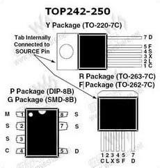 Top245 Top 245 Top245yn Top245 Top 245 top245 pdf datasheet 中文资料下载