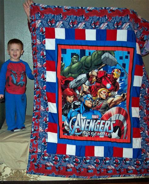 pattern for spiderman quilt avengers quilt w spider man quilted creations