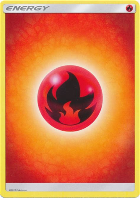 Basic Energy Fireplace by Energy Singles 187 Pkmn Sm Basic Energy En