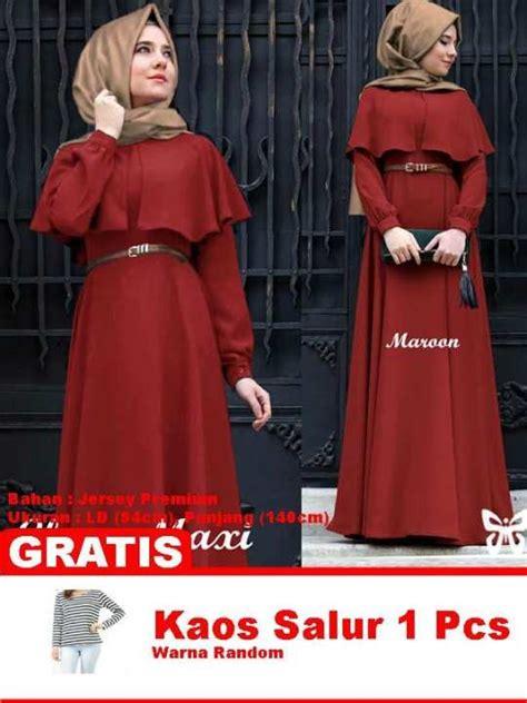 Kirana Maxy Dress baju wanita shop best seller baju maxi dress gamis