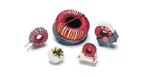 high power toroidal inductors ci cj series high frequency toroidal differential mode inductor standex electronics