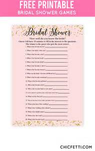 bridal shower free printable 25 best ideas about free bridal shower on