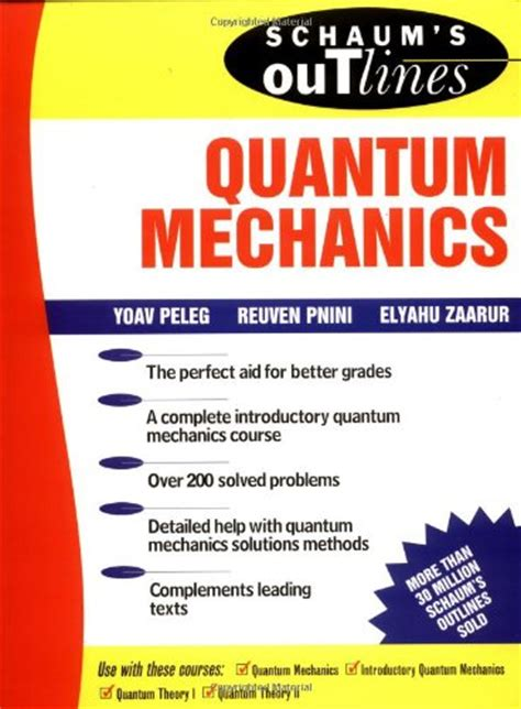 libro quantum physics in minutes schaum outline of quantum mechanics p 250 blico libros