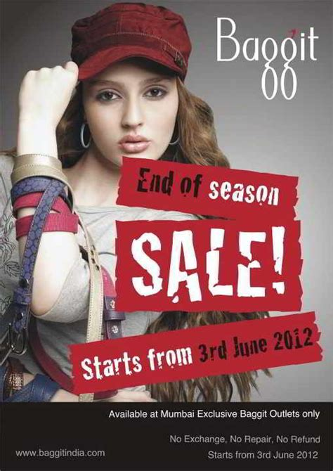 Sale Season Is Starting by Baggit End Of Season Sale Available At Mumbai Exclusive