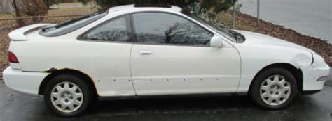 old car owners manuals 1994 acura integra auto manual sell used white manual 1994 acura integra ls in for us 1 000 00