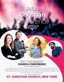 free christian flyer templates christian conference church psd flyer template