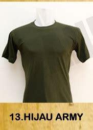 Kaos Hijau Pria kaos cowok hijau army kaosapparel