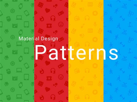 pattern background app material design gui and app templates for android free