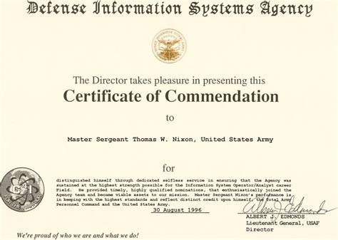army certificate of achievement template army certificate of achievement template masir